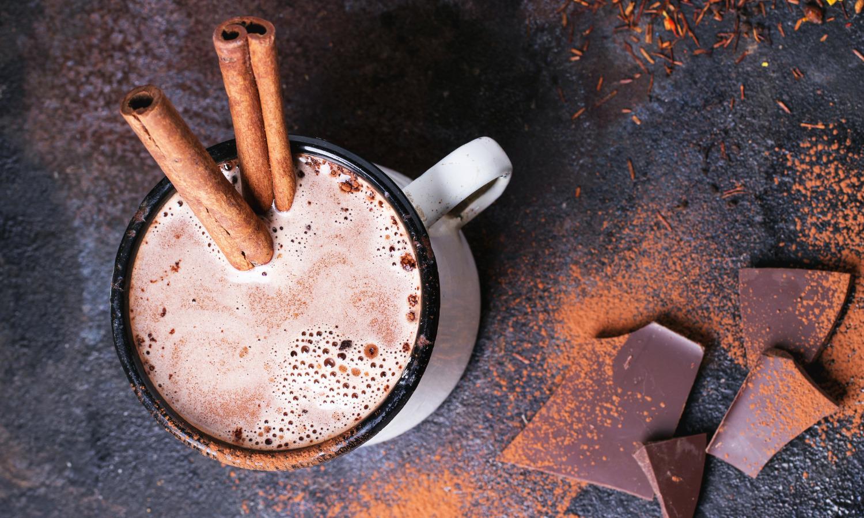 spiced hot chocolate