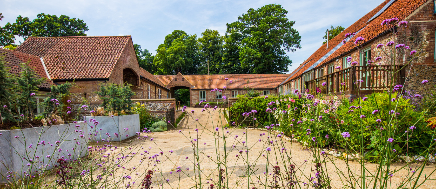 courtyard accommodation norfolk yoga retreat