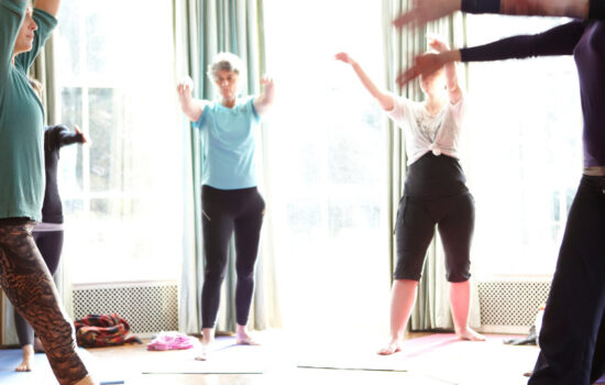 yoga class autumn yoga retreat brecon beacons